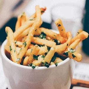 Receta patatas fritas con queso con freidora de aire